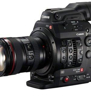 Noleggio Telecamera Canon Eos C300 Mark II