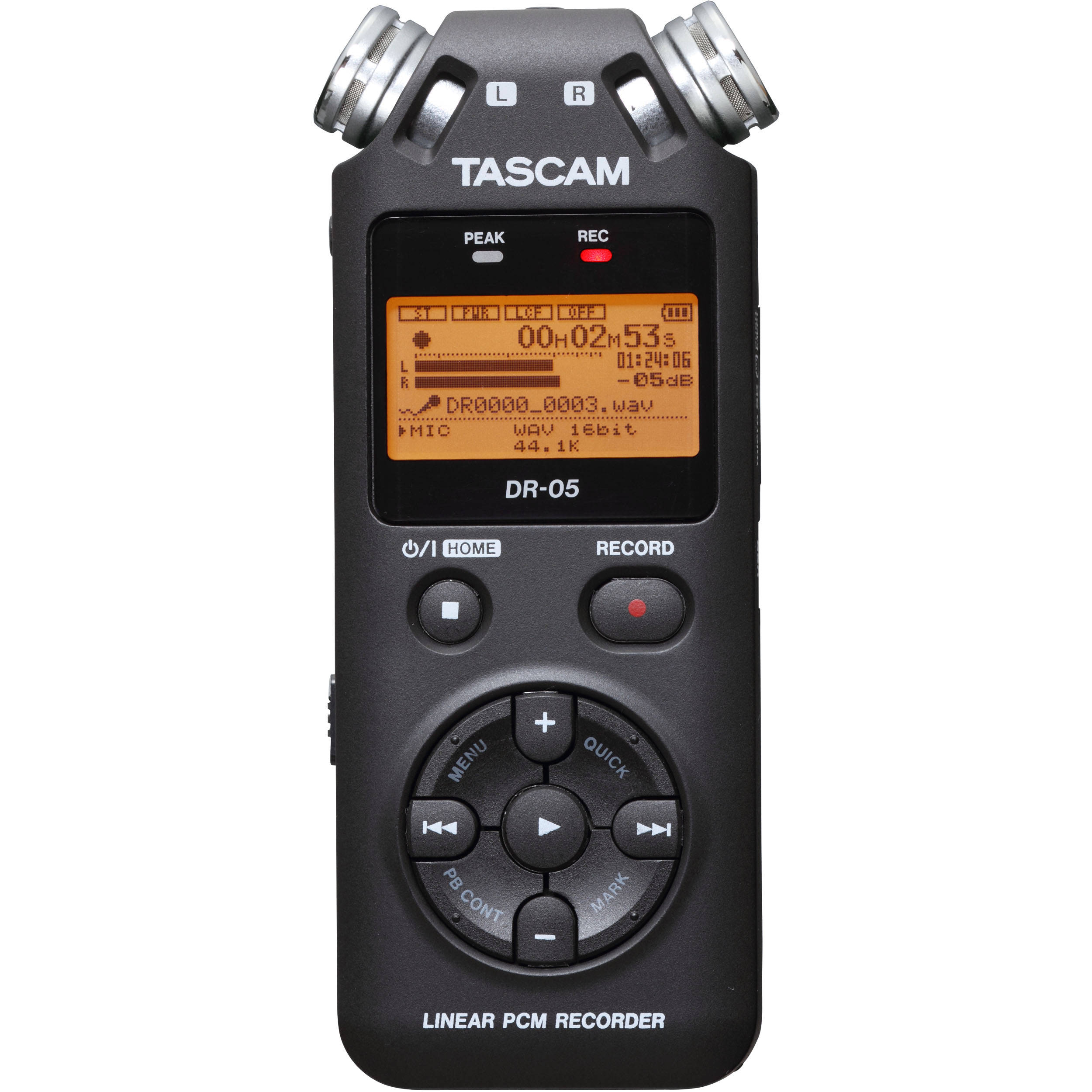 DR-05 from Tascam is a portable and compact recorder