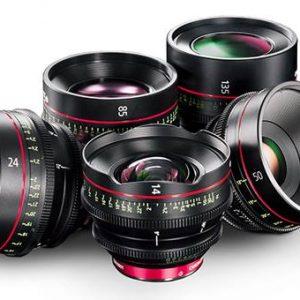 Noleggio Kit Obiettivi Canon Cine Prime (14-24-35-50-85-135)