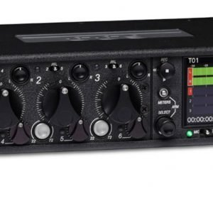 the 633 sound device is a 6-channel carbon fiber mixer.